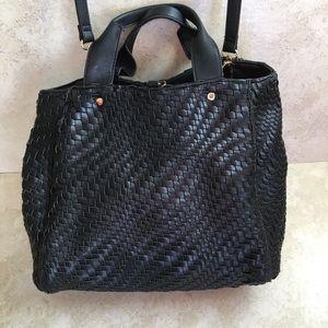 Deux Lux Woven Handbag